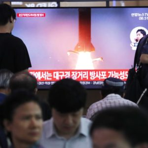 DPRK fires 2 short-range missiles off east coast: ROK