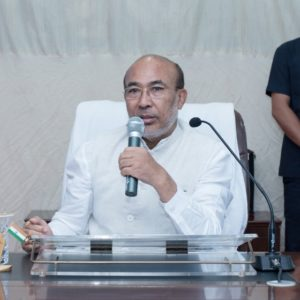 "Hon'ble CM N Biren Singh chaired a meeting on ""Regulation of Illegal Mining Activities in the State"" at CM Secretariat, Babupara. 0 (0)"