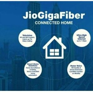 Reliance Jio GigaFiber, GigaTV Could Be Launched On August 12 – What We Can Expect  By Abhinaya Prabhu
