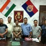 interaction with Ms Amrita Sinha, IPS, Superintendent of Police, Churachandpur District