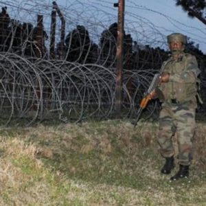 J-K: Nowshera sector ah Pakistan in ceasefire bawtsia (violates) kit