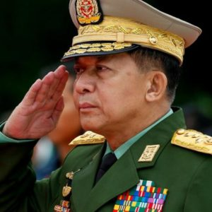 US bans Myanmar army chief