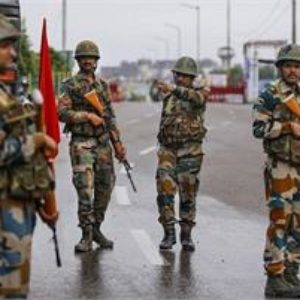 When night falls over the city, jawans on alert to keep Kashmir safe