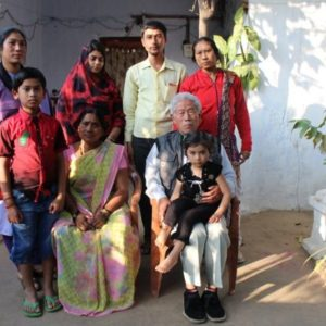 Ex-Chinese soldier awaits return to family in MP village