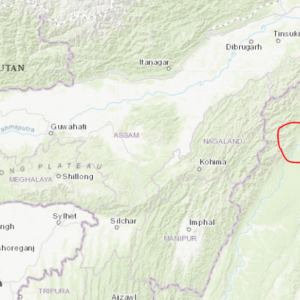 Earthquake hits eastern Myanmar, tremors felt in Nagaland