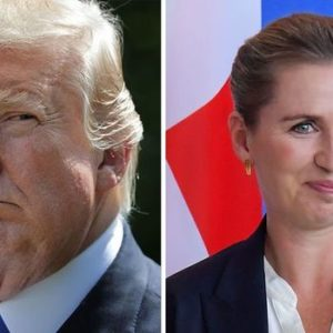 Trump praises Danish PM he called 'nasty' over Greenland row