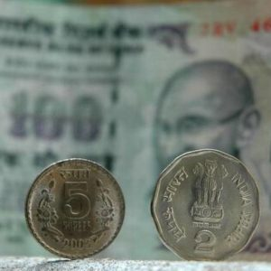 Rupee slips 42 paise to 72.08 vs $ in early trade