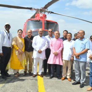 Helicopter service re-launched in Manipur
