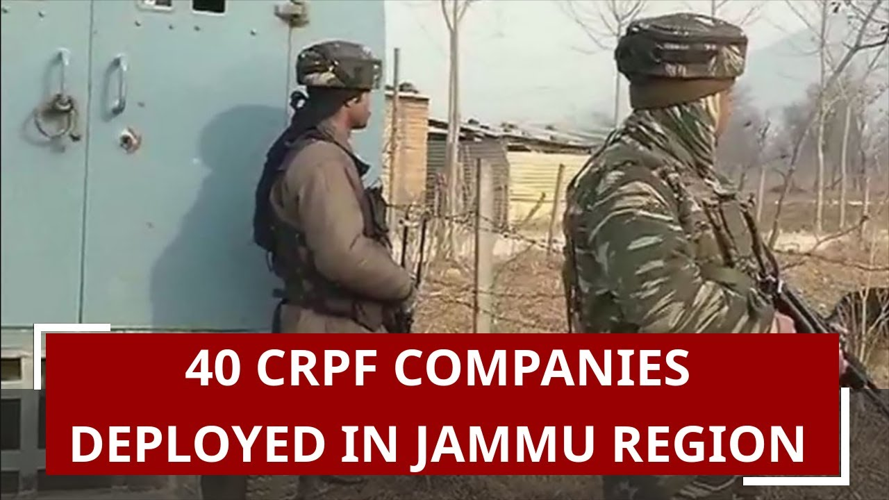 Section 144 applicable, 40 company CRPF deployed, know what happened last night in Kashmir