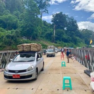 Temporary bridge to open after attack