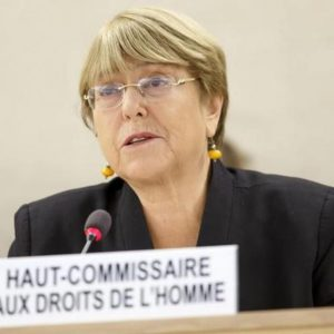 UN human rights chief asks India, Pakistan to respect and protect rights of Kashmiris