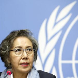 UN expert implores Myanmar's Suu Kyi: 'open your eyes, listen, feel with your heart'
