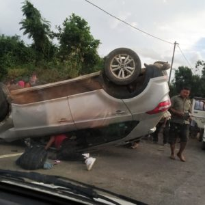 Breaking News| Terakhongsangbi ah Hyundai Creata Accident, thina tuak um, hetchet hinailou