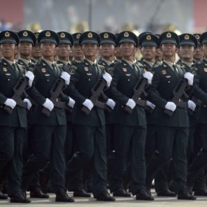 China parades its latest missiles in challenge to US, others