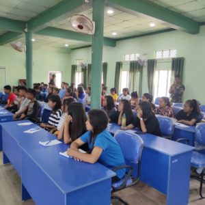 "IGSSS Ccpur mapui na Seminar um ""Career counseling on alternative career options"""