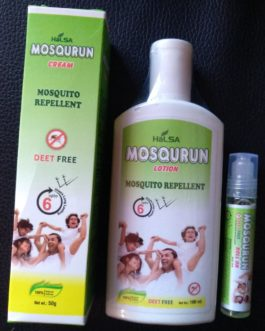 Mosqurun Cream @Rs.75,Lotion @ Rs.99, Roll-on @Rs.80