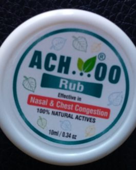 Achoo Rub @ Rs.32