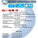 EBC LAMKA SOUTH DIVISION, BAPTIST YOUTH FELLOWSHIP IN ADVENT CHRISTMAS ZANG DING