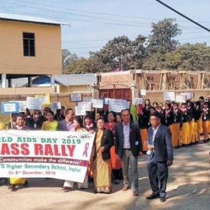 World AIDS Day observed, rally taken out in Imphal