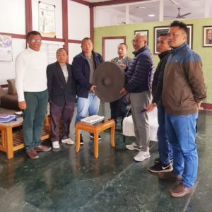 Officials of Thadou Inpi called on Hon'ble CMN Biren Singhand expressed gratitude on the inclusion of Manipur in Inner Line Permit System.