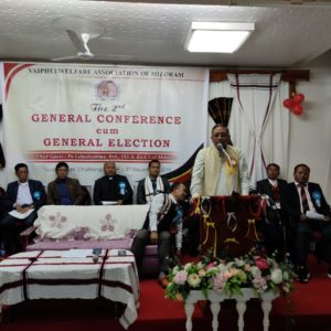Vaiphei Welfare Association  in General Conference-cum- General Election nei