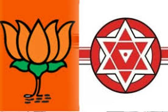 BJP, Jana Sena announce alliance, join hands again