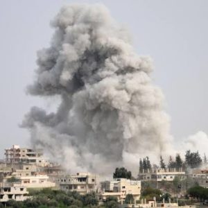 Russia strike kill five civilians in northwest Syria
