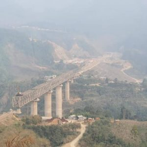 Good News Manipur Jiribam-Imphal new Rail line National Project has been launched successfully