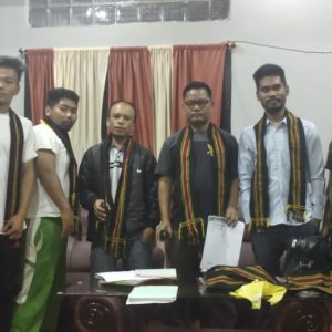 Gangte Students' Organisation (GSO) Moreh block elected leaders