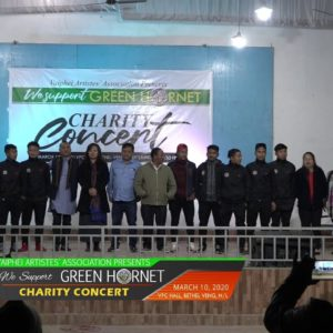 UKB panpina Vaiphei Artist's Association in Charity Concert