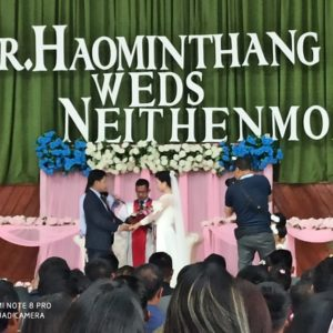 Moulawp na um; Dr.Haominthang Vaiphei, Ex President Zillai Ghq. WEDS Neithenmoi at MBC Imphal