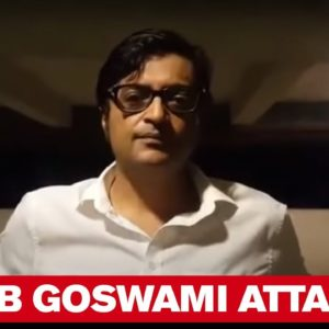 Arnab Goswami was attacked By Goons | Republic Media Network's Editor-in-Chief