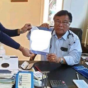 Breaking News | Dr. John L Sailo (69), Shillong, Meghalaya,Bethany Hospital, Neitupa,Shillong Coid19 vei masa pen chun eila beisan tai.