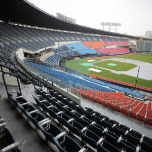 Sports games to reopen to limited numbers of fans in S. Korea