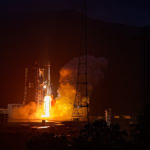 China sends a new commercial communication satellite into space
