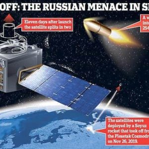 RUSSIA IN SPACE AH STAR WARS MISSILE KAP DAWK, UK LEH US IN LAU UM SA