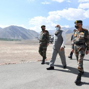 India's Modi rallies troops at China border, as Beijing urges caution 0 (0)
