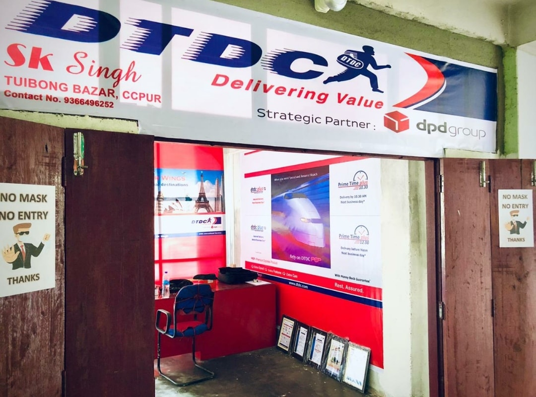 DTDC Courier in Churachandpur pin code 795128,Contact number: 9366496252
