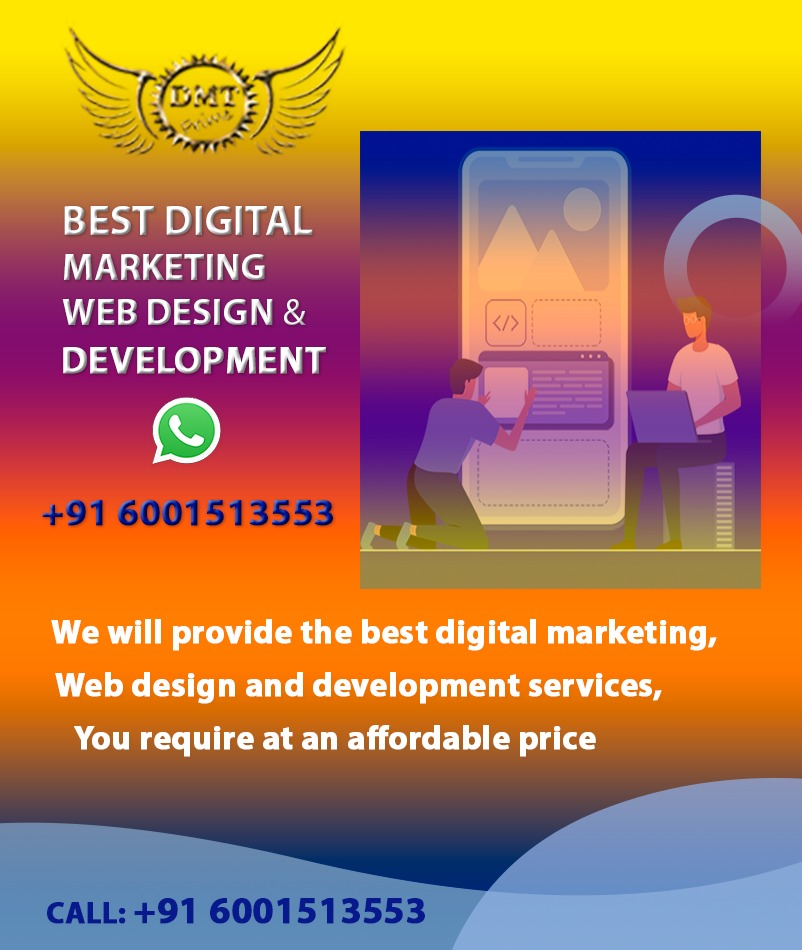 Best Reliable #1 Digital Marketing Agency/Company in Guwahati Assam – DMTPRIME