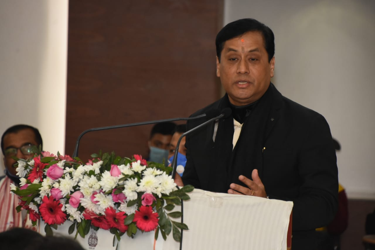 CM Sonowal wants to make Assam a corruption-free State