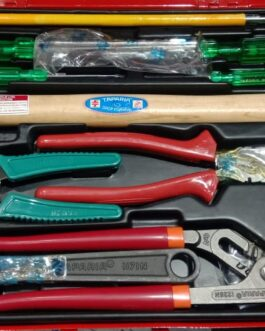 Professional Tool kit set.Hammer+screw Driver+Line taster+wire cutter+Water pump plier+Adjustable spanner Rs.2315