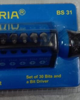 Bit Driver Set/30 Bits with  Bit Driver.Rs.530.00