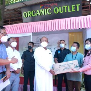 Manipur Government distributed planting material/seeds to farmers